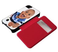 Flip Cover iPhone4 Sportellino Laterale