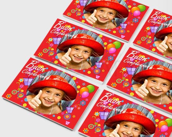 Stickers con foto e grafiche