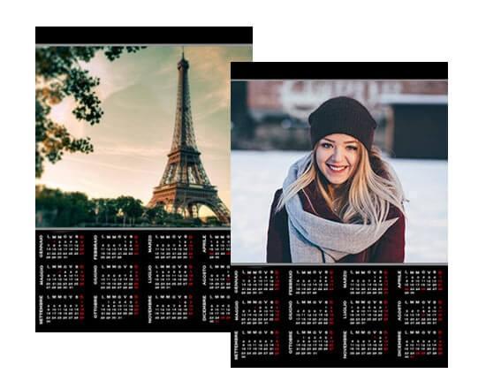 Calendario Fotografico Personalizzato.Crea Foto Calendario A3 Su Pagina Singola