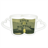 Born for Nature Coppia di Tazze Love