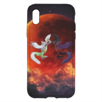 Cover Anime Opposte Cover trasparente Iphone XS