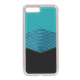 Rhombus snake green water Cover in silicone Iphone 8 Plus