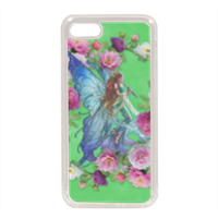 Fata con Fiori Cover in silicone iphone 8