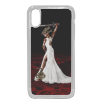Sposa Arte Grafica Cover in silicone iphone X