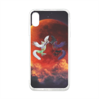 Cover Anime Opposte Cover in silicone Iphone XS