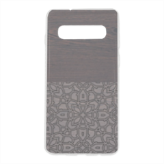 Wenge and Gothic Cover trasparente Samsung S10 Plus