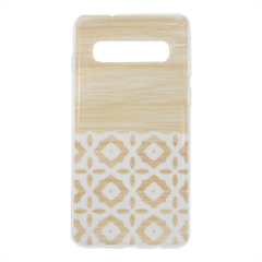 Bamboo vintage Cover trasparente Samsung S10 Plus
