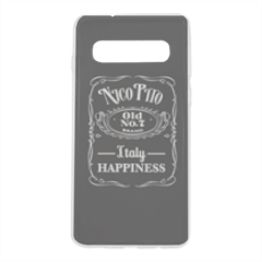 Italy happiness Cover trasparente Samsung S10 Plus