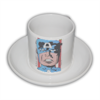 CAPITAN AMERICA 2014 Tazza Coffee Panoramica