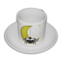 SPIDERMOON Tazza Coffee Panoramica