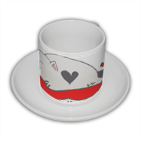 CUPIDO IN LOVE by NYA Tazza Coffee Panoramica