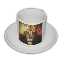 King with King Tazza Coffee Panoramica
