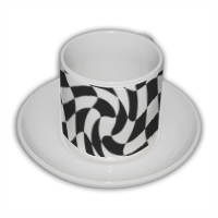 Stile geometrico Tazza Coffee Panoramica
