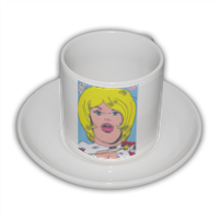 POWER GIRL Tazza Coffee Panoramica
