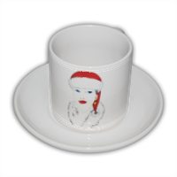 Mamma Natale Tazza Coffee Panoramica