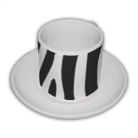 Zebra African Tazza Coffee Panoramica