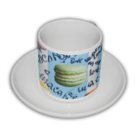 macarons Tazza Coffee Panoramica