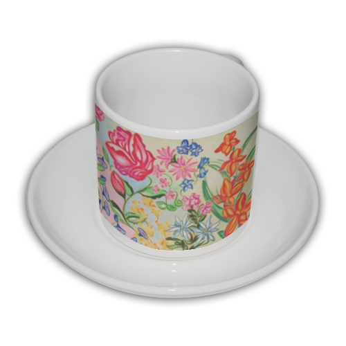 New Flowers Tazza Coffee Panoramica