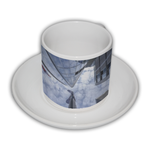 Grattacieli Tazza Coffee Panoramica
