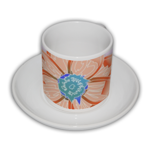 Flowers Tazza Coffee Panoramica