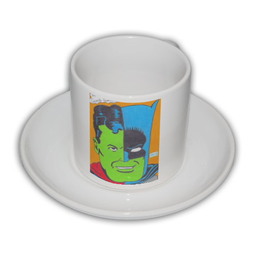 THE COMPOSITE SUPERMAN Tazza Coffee Panoramica