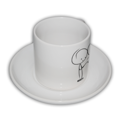 Drawm me love Coffe Pan Tazza Coffee Panoramica