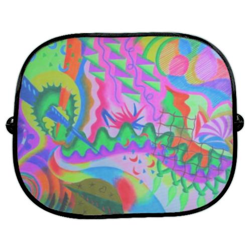 parasole colorati per auto
