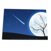 A magic night Puzzle rettangolare 50x70cm