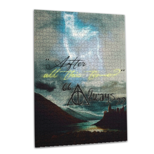 after all this time Puzzle rettangolare 50x70cm