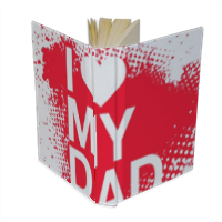 I Love My Dad - Agenda 9 x 13 cm