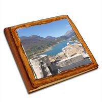 From the castle Album copertina in legno30x30