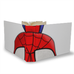 Spiderman Album Tessuto 20x15