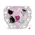 Sweet Love with Dog Tappetini Personalizzati