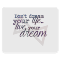 live your dream Tappetini Personalizzati