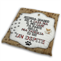 Dog Tablet  Cuscino per Sedie