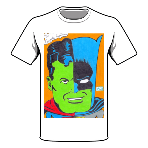 THE COMPOSITE SUPERMAN Maglia a Manica Corta