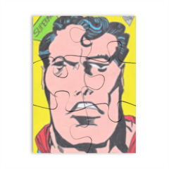 SUPERMAN KIRBY Puzzle magnetico 8x6