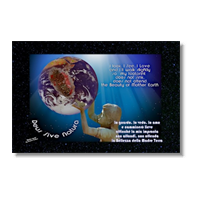 22 Aprile Earth Day Poster carta opaca