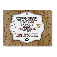 Dog Tablet  Poster carta lucida