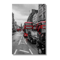 London red and white Poster carta lucida