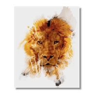 The Lion Poster carta lucida