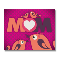 Mamma I Love You - Poster carta lucida