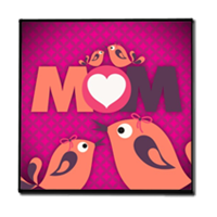 Mamma I Love You - Stampe su Legno Moderno