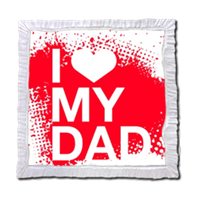 I Love My Dad - Stampe su Legno Perla