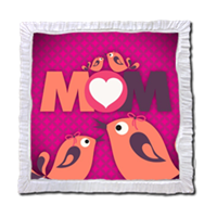 Mamma I Love You - Stampe su Legno Perla