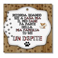 Dog Tablet  Foto su Tela