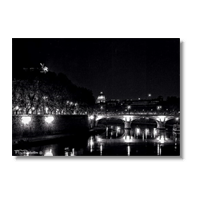 Rome By Night Foto su Tela