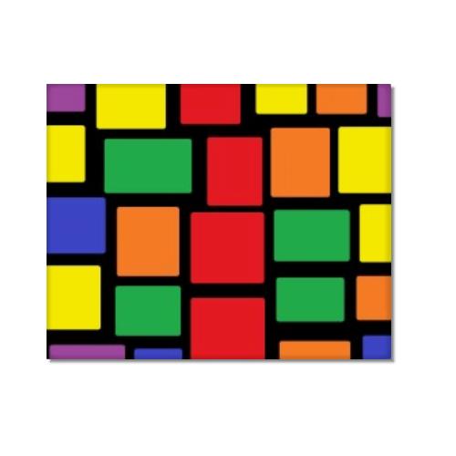 Tela moderna figure geometriche
