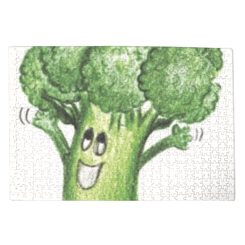broccoletto Foto su Puzzle 500 pz