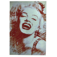 The star's smile Marilyn Foto su Puzzle 768 pz